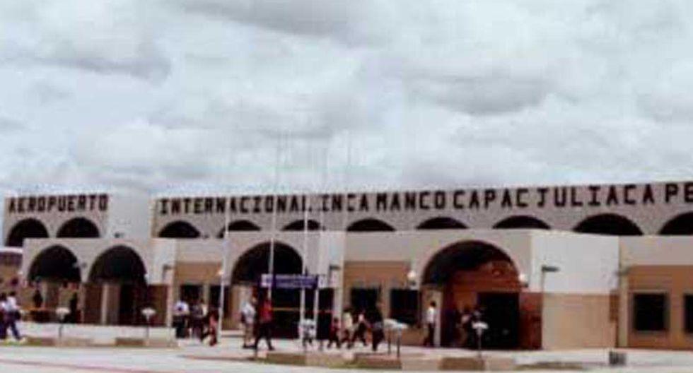 Manifestantes intentan tomar aeropuerto en Juliaca