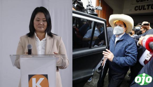 """Keiko Fujimori: """"Perú Libre nos ha robado miles de votos el día de la elección"""""""