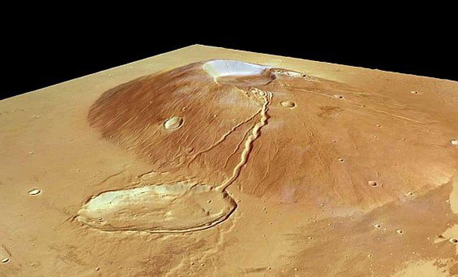 Marte tuvo volcanes activos antes de lo que se pensaba y se parecen a los de la Tierra