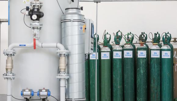 Las autoridades saludaron la iniciativa de los vecinos de la zona quienes también realizaron una colecta de fondos para adquirir lo antes posible la planta de oxígeno (Foto: Archivo GEC / Referencial)