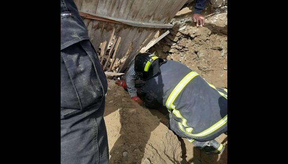 El rescate estuvo a cargo del personal del Escuadrón de Emergencias y Rescate de la Policía Nacional. (Foto: PNP)