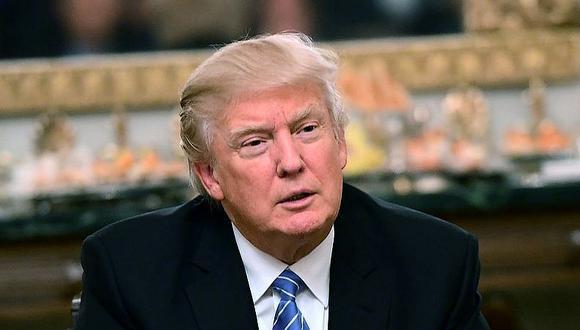 Donald Trump critica a prensa que defiende intereses de demócratas