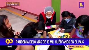Pandemia de coronavirus va dejando a 10 mil niños huérfanos en todo el país