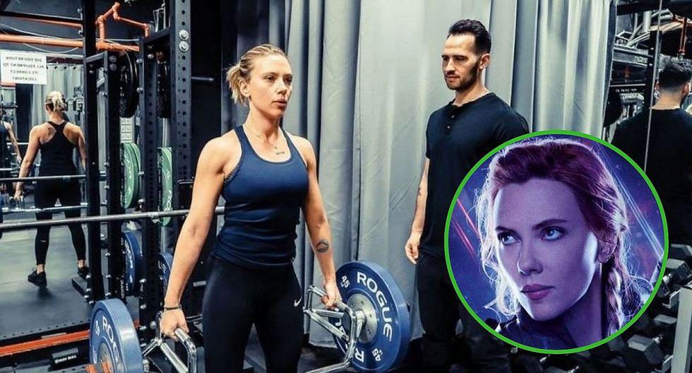 Revelan exigente preparación física de Scarlett Johansson para su papel en Avengers: Endgame