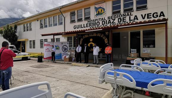 Apurímac: entregan camas UCI al hospital Regional Guillermo Díaz de la Vega (Foto: difusión)