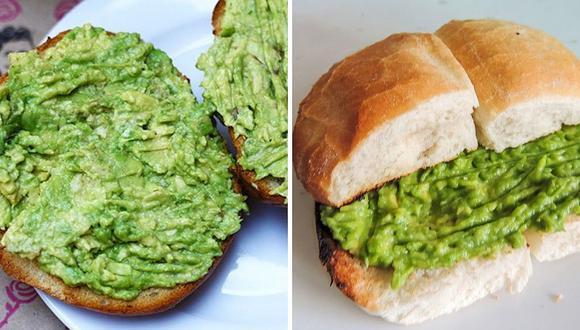Estudio afirma que el pan con palta puede ser adictivo