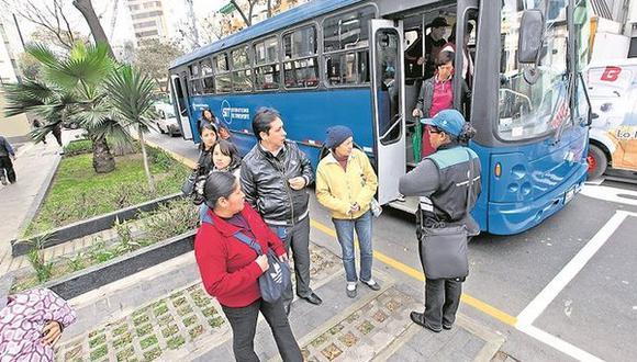 Javier Prado: Municipalidad de Lima aplaza retiro de rutas