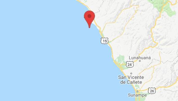 Un temblor de 3.7 grados sacudió  la ciudad de Chilca esta madrugada