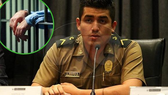 Fiscalía vuelve a pedir prisión preventiva contra el suboficial Elvis Miranda Roja