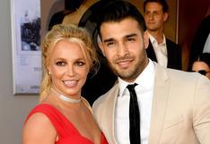 Britney Spears anuncia su compromiso con el modelo Sam Asghari