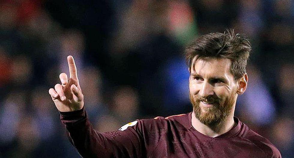 Messi se pone líder de la Bota de Oro con su triplete a la Coruña (VIDEO)
