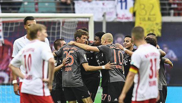 Leipzig Bayern 4:5