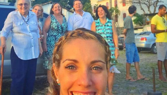 ¡Belleza familiar! Brenda Carvalho se reúne con sus seres queridos [FOTOS]