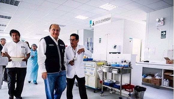 Minsa anuncia equipamiento del Hospital María Auxiliadora