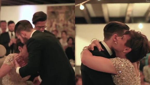 Facebook: Mamá con esclerosis baila con su hijo en su boda y conmueve [VIDEO]
