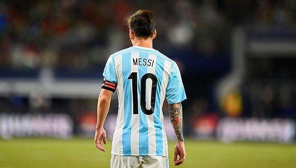 Lionel Messi renuncia a la selección de Argentina y causa revuelo