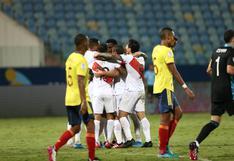 Perú se impuso frente a Colombia con un 2-1 y suma sus primeros tres puntos en la Copa América