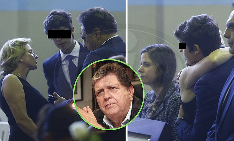 Pilar Nores despide a su exesposo Alan García y se abraza con Federico Danton (FOTOS)