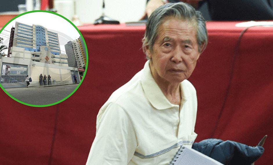 Revisión médica a Alberto Fujimori se realizó hoy (FOTOS)