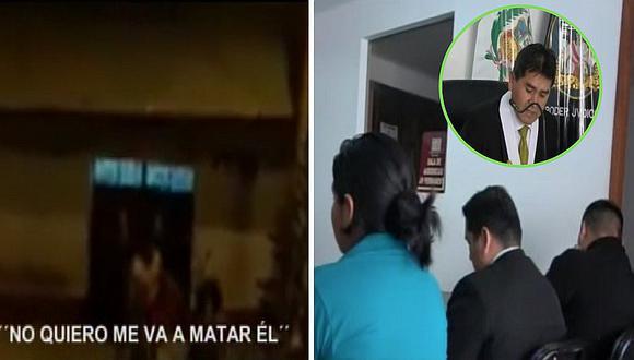 Mujer defiende a su pareja frente a juez tras ser agredida en la calle (VIDEO)