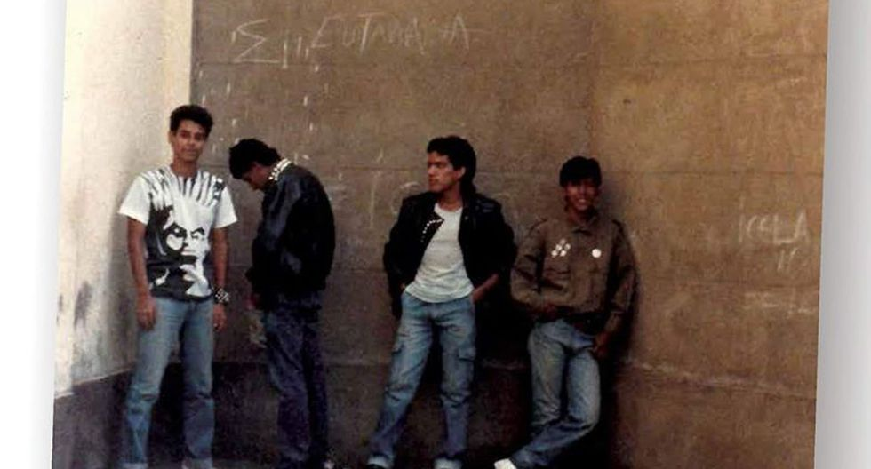 Alineación original de la banda en su debut. (Foto de Terokal Fanzine)