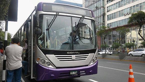 Corredor SJL: así fue el primer día de los buses morados por la av. Abancay (VIDEO)