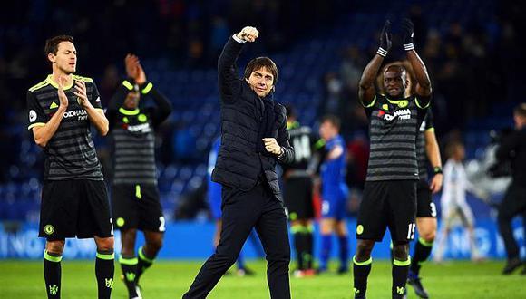 Premier League: Chelsea, imparable puntero, golea 0-3 al Leicester