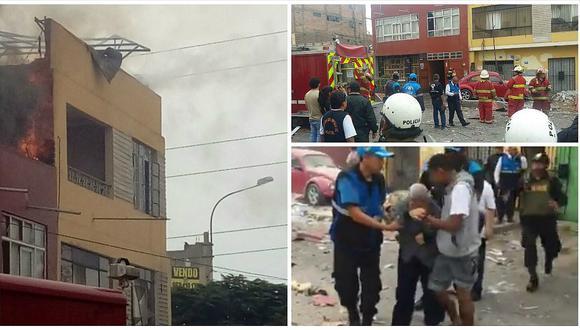 Fuerte explosión en taller pirotécnico desata incendio y pánico entre vecinos (FOTOS y VIDEO)