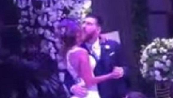 """La boda de Messi y Antonella: la hermosa acción que hizo su pequeño hijo cuando se dieron el """"Sí"""""""