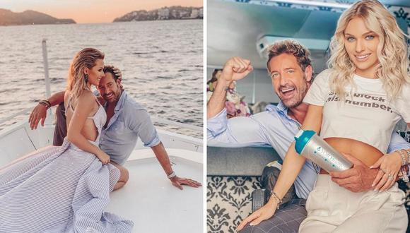 Irina Baeva y Gabriel Soto afirmaron que pasaron la cuarentena en Acapulco junto a la familia de la actriz. (Instagram: @gabrielsoto / @irinabaeva).