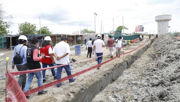 Tumbes: la ministra Fernández indicó que la etapa I tiene un monto de inversión de 5.9 millones de soles. (Foto: Ministerio de Vivienda)