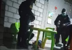 Sicario asesina de seis balazos a mecánico de motos en restaurante en La Libertad