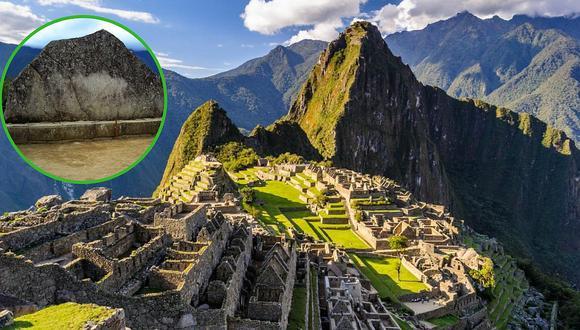 Roca Sagrada de Machu Picchu con riesgo de desaparecer