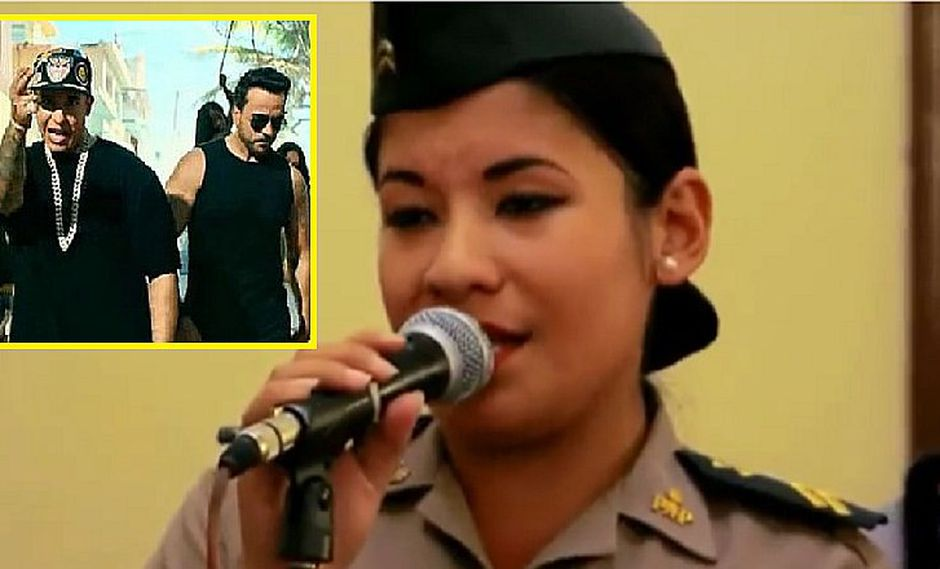 """""""Despacito"""" de Luis Fonsi está tan de moda que policía peruana la canta pero así (VIDEO)"""