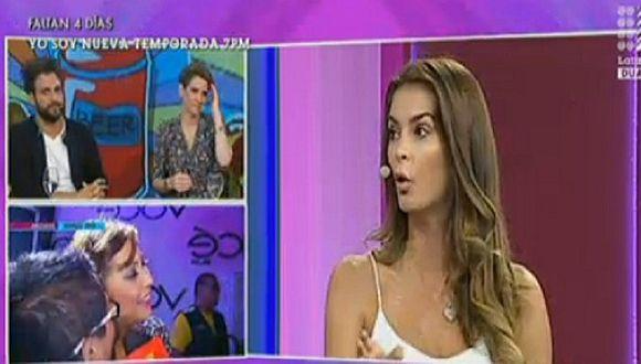 """Laura Spoya arremete contra la producción del Miss Perú y los """"guerreritos"""""""