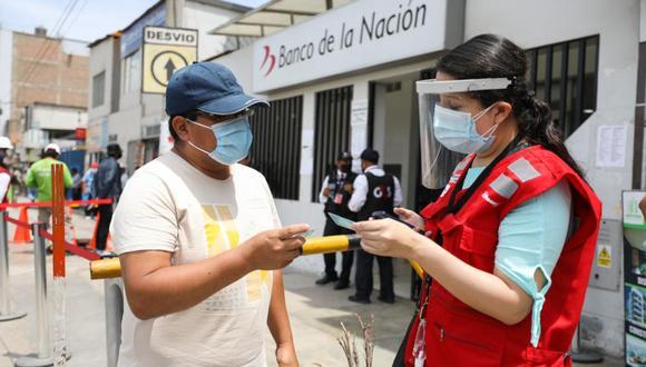El Midis habilitó una plataforma para registrar los posibles problemas que se presenten a la hora de cobrar el bono de 600 soles (Foto: Andina)