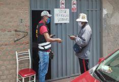 Puno: Intervienen cuatro locales donde vendían falsos pases de circulación en Juliaca
