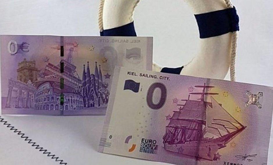Sacan billete de 0 euros para conmemorar fin de II Guerra Mundial