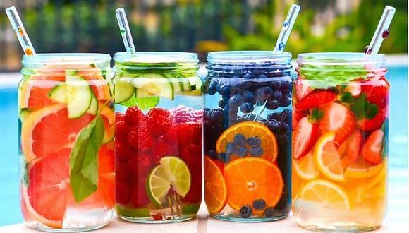 Bebidas: 4 propuestas naturales para aquellos que no les gusta el agua