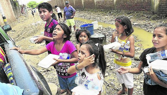 Piura: la inundación alcanza también a los refugios