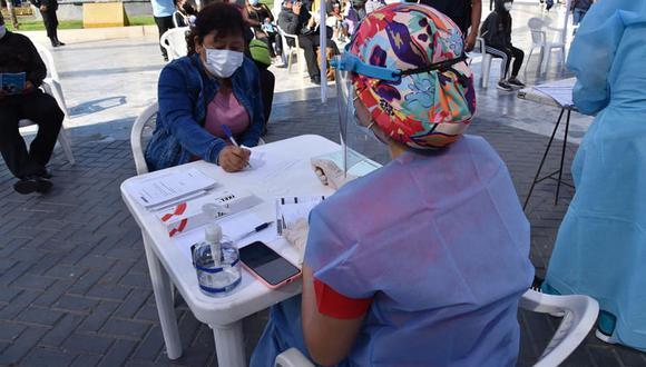 Áncash: realizaron más de mil atenciones durante mega campaña de descarte de COVID-19 (Foto: Diresa Áncash)