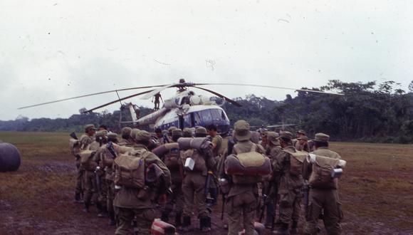 Comando Conjunto homenajeó a los valerosos peruanos que lucharon hace 26 años en la guerra del Cenepa (Foto: archivo GEC | Rolly Reyna)