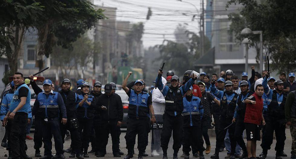 Independencia y San Martín de Porres: Enfrentamiento de serenos por líos limítrofes│VIDEO