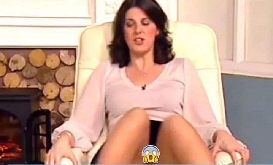 YouTube: Presentadora abre las piernas y enseña más de la cuenta [VIDEO]