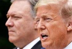 """Donald Trump dice que Estados Unidos """"rompe su relación con la OMS"""" por gestión de COVID-19"""