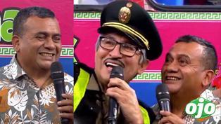 """Tony Rosado fue 'troleado' en tv: """"¿Te gusta cantar fuera de la comisaría o dentro de la comisaría?"""""""