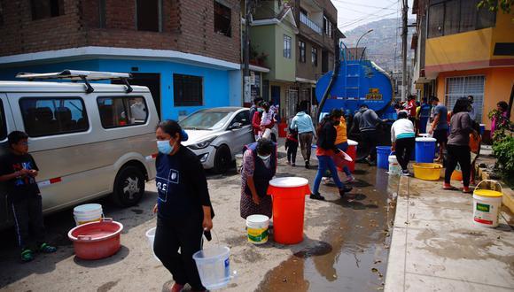 Fernando Neyra, docente de la carrera de Ingeniería Ambiental de la UPC, nos explicó que el agua al ser un bien público requiere tener elementos adecuados de gestión y administración (Foto: Hugo Curotto / @photo.gec)