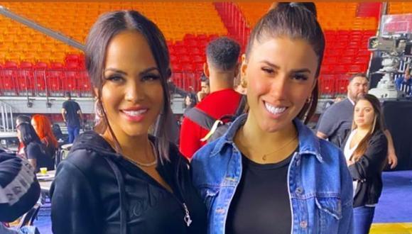 Yahaira Plasencia posa junto a Natti Natasha. (Foto: Instagram)