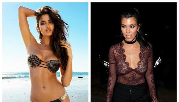 ¡Irina Shayk y Kourtney Kardashian se baten a duelo con el mismo vestido![FOTOS]