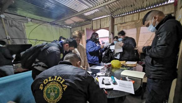 Alex Jerónimo, alías 'Alex Beboo Lovers', fue detenido en su vivienda en Villa El Salvador. (Foto: PNP)